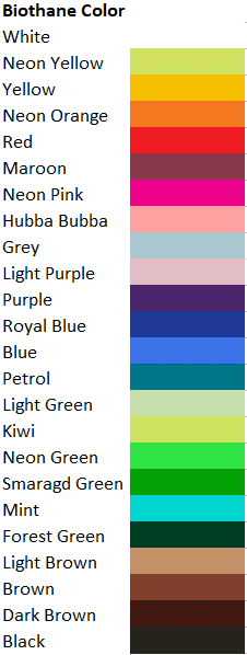 Biothane Color