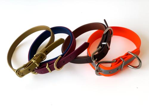 Biothane-Halsband viele Farben